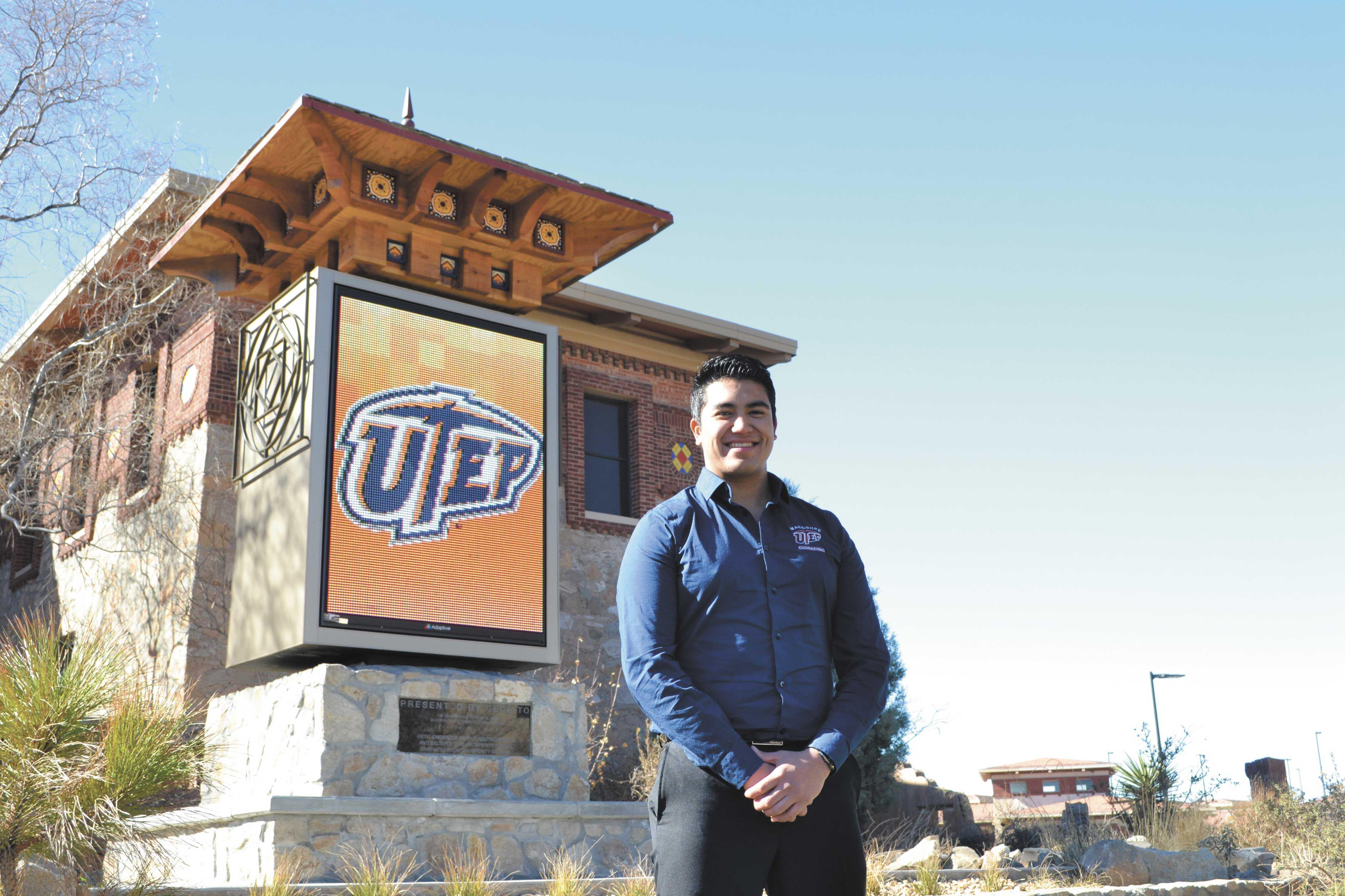 Jose Martinez, president of SHEP/MAES, junior mechanical engineering major.