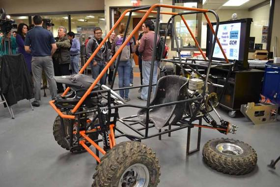 Engineering students participate in international off-road extreme challenge