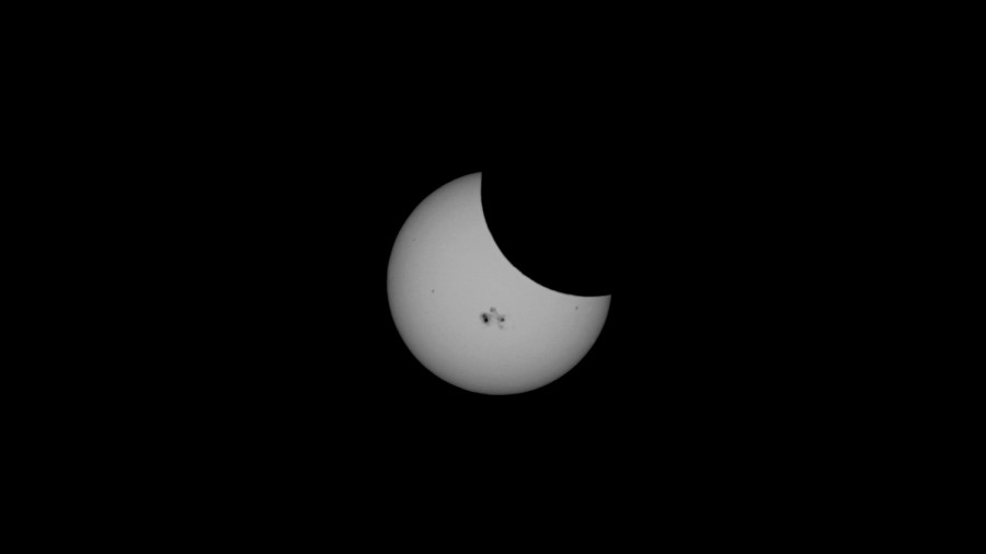 Partial Solar Eclipse 2014