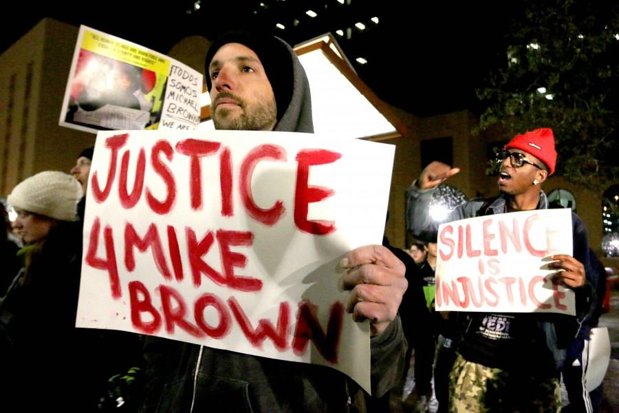 El Paso shows solidarity for Mike Brown
