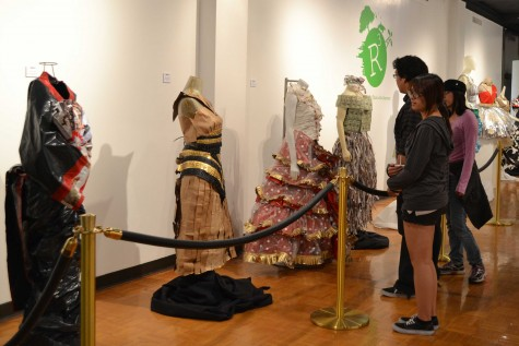 Earth Day fashion show presents recycled trends