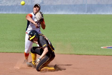 Softball faces crucial home series