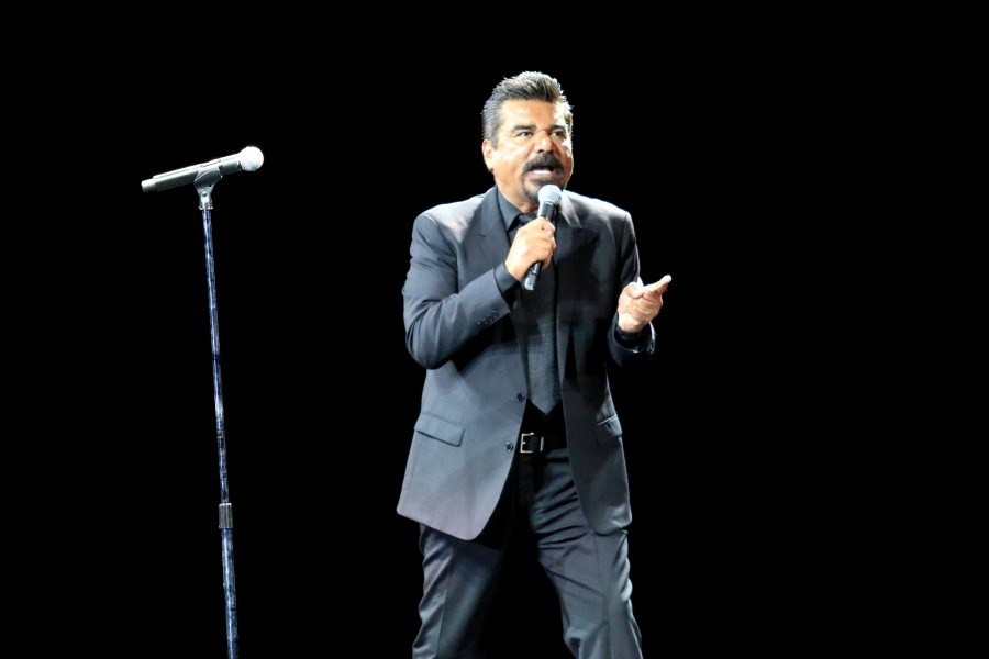 Comedian George Lopez  takes part in 'Comedy Get Down'