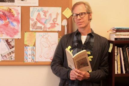 Creative writing professor publishes book of poetry