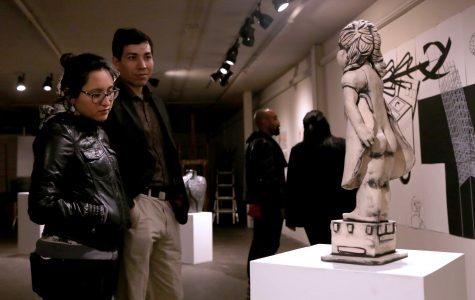 Juried exhibition showcases UTEP art student's work