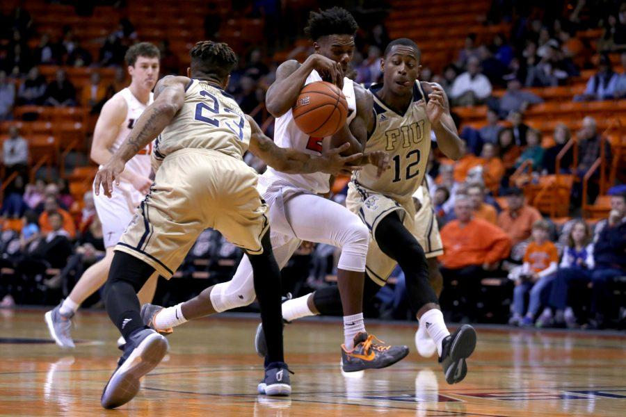 FIU wins match on 30-foot buzzer-beater in triple overtime