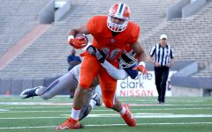 Spring game showcases balanced attack for Miners