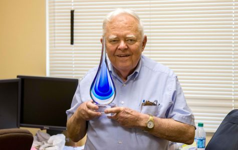 Professor receives award for his work on water conservation
