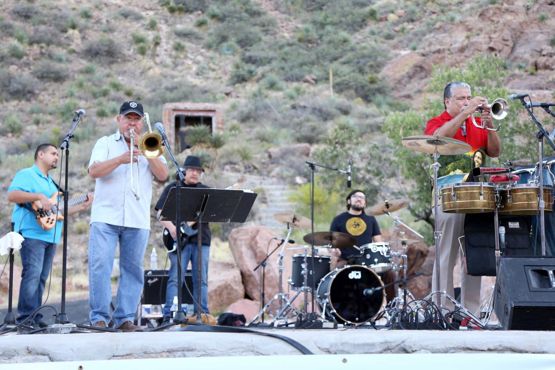 The+El+Paso+Band+perform+at+Cool+Canyon+Nights+at+the+McKelligon+Canyon+Amphitheatre+on+Thursday+May+18.+