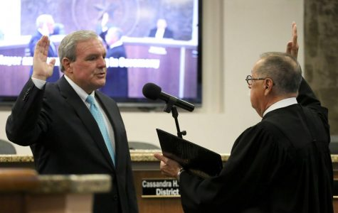 Mayor and city representatives officially sworn in