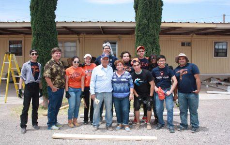 Students help families preserve rainwater