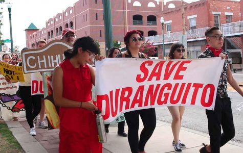 Duranguito solidarity march advocates for preservation of community