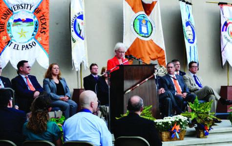 Natalicio delivers speech on upcoming countdown to centennial