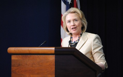 Former secretary of state Hillary Clinton gives her support to military action in Syria at an unrelated event about wildlife trafficking. She said Syrian President Bashir al-Assad's actions demand a strong response from the United States and other international leaders.