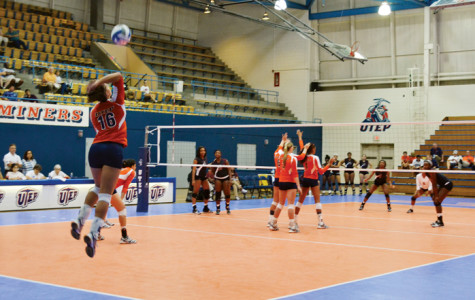 Miner volleyball close out UTEP Invitational with victory over Texas Southern