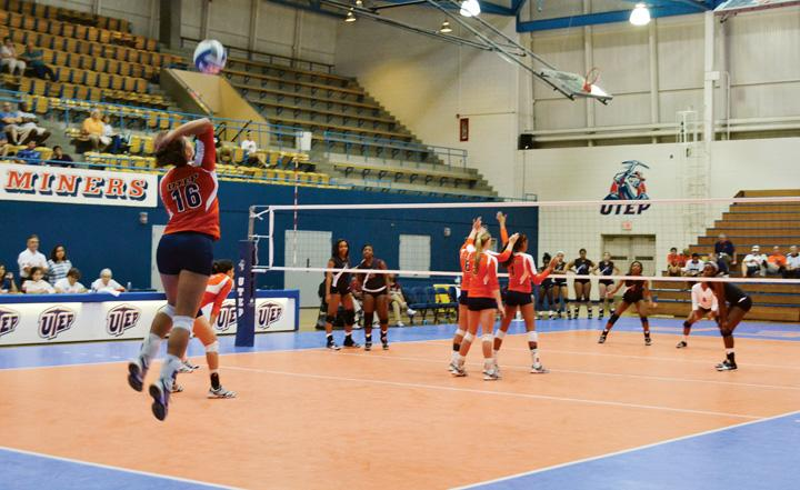 Miner+volleyball+close+out+UTEP+Invitational+with+victory+over+Texas+Southern