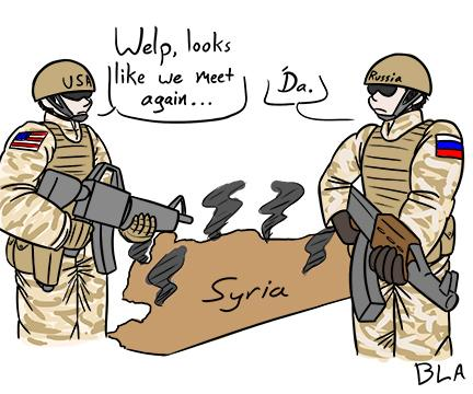 Look out Syria