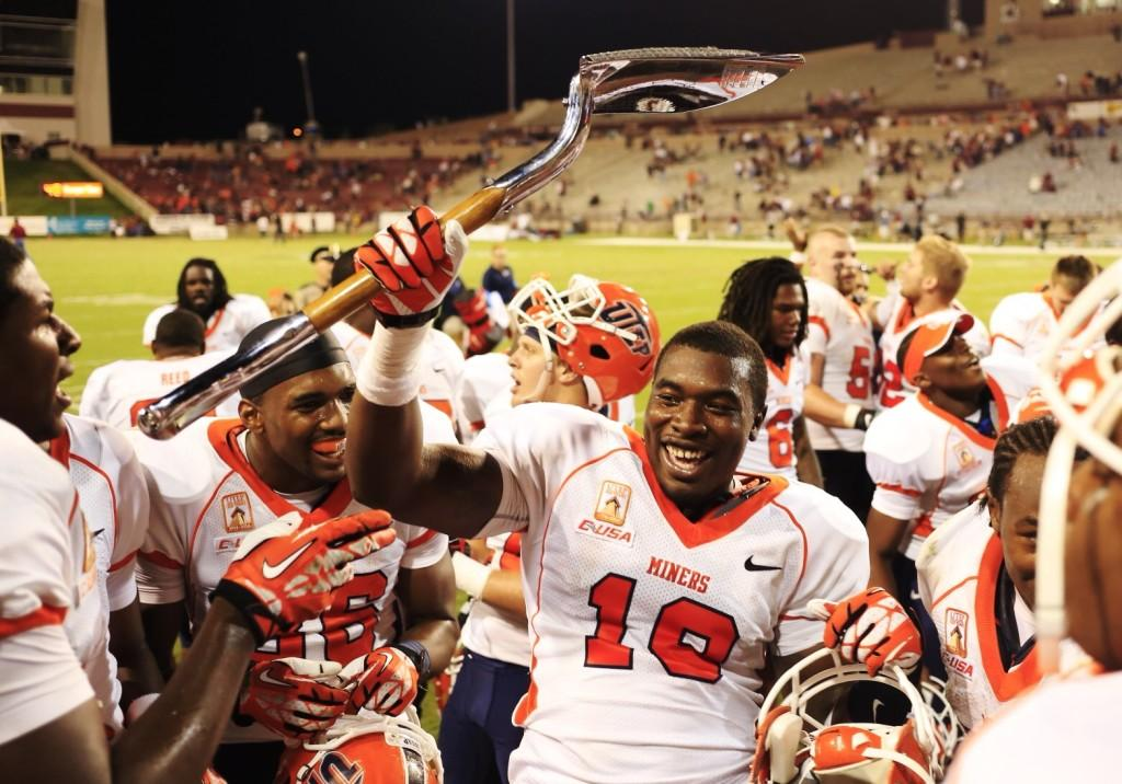 #11 UTEP defeated the New Mexico State Aggies 42-21 marking their fifth-straight Battle of I-10 victory.
