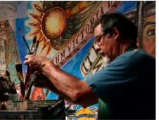 Fresco Artist Frederico Vigil to give a talk at the UTEP Rubin Center