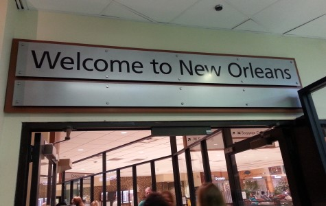 The Prospector staff travels to New Orleans for media awards