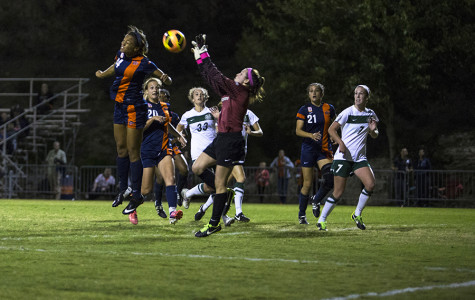 Sarah Dilling late saves help Miners hold a 2-2 draw against Charlotte