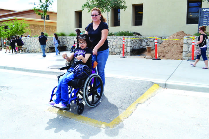 Construction causes trouble for students with disabilities
