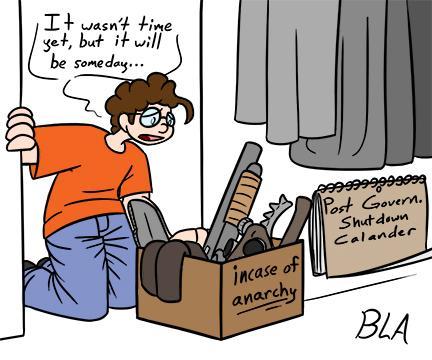 Cartoon by Blake A. Lanham