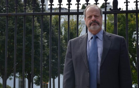 El Paso Mayor Oscar Leeser was in Washington D.C. For the Association of the U.S Army expo, where he met with military contractors.