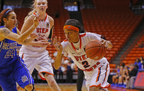 Thornton shines in women's basketball first showing