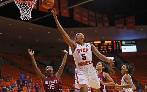 Miners crush rivals New Mexico State 94-69