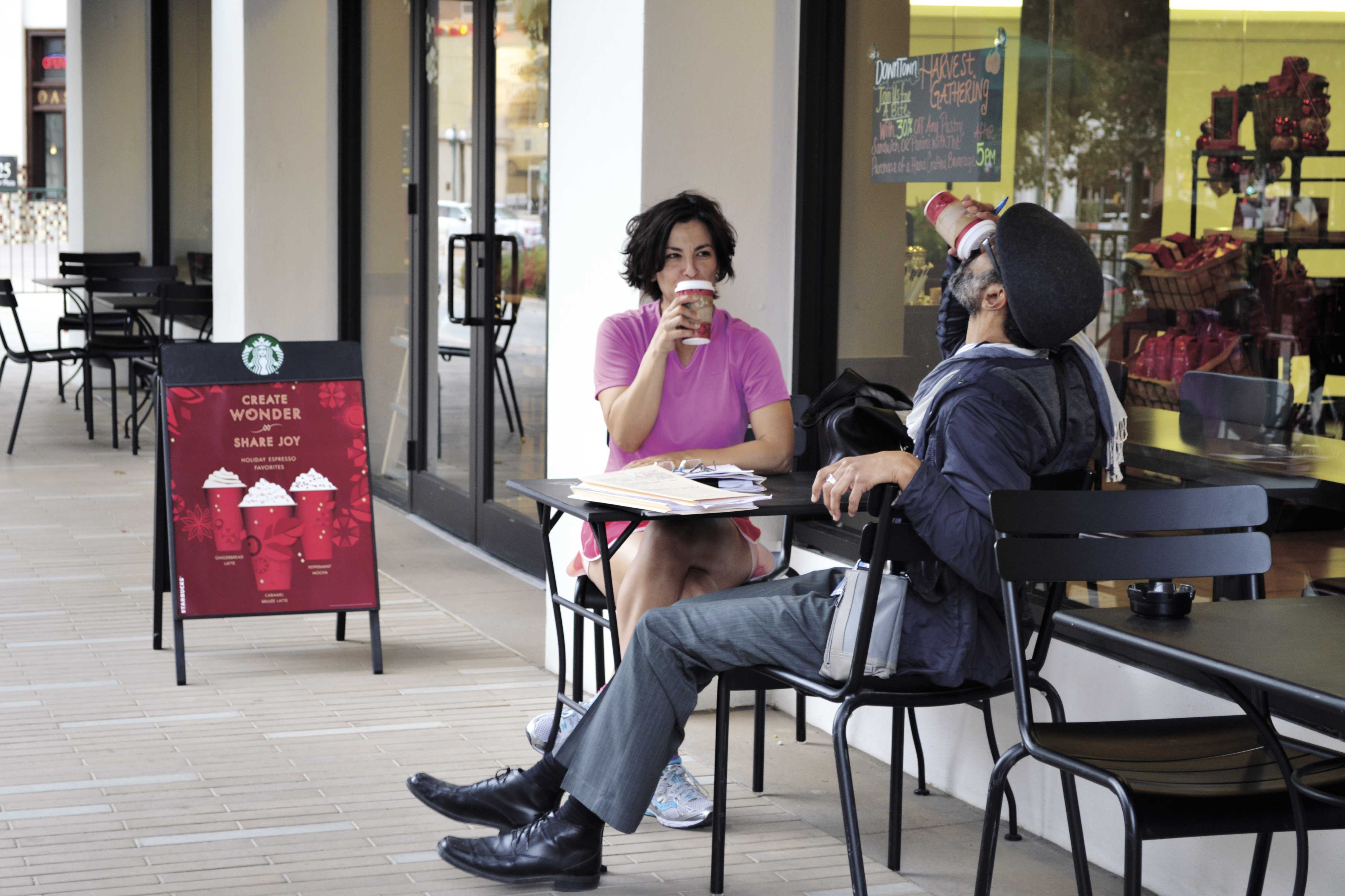Starbucks coffee was voted as best coffee place, while Kinley's Coffee and Tea House came in second in the Pick Awards survey.