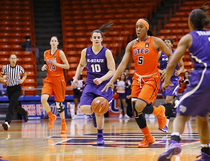 #4 The Women's basketball team defeated the Kansas State Wildcats 84-39 to make it its third biggest win. Six days later UTEP crushed Northern Arizona 92-43, the biggest win in school history.