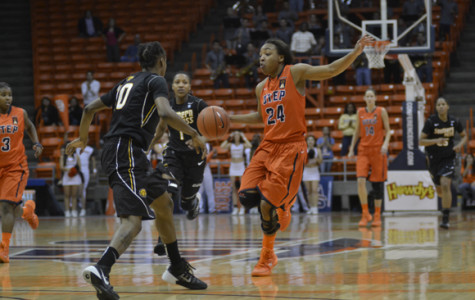Sophomore guard Jenzel Nash is the second leading scorer for the Miners averaging 12.1 points per game..