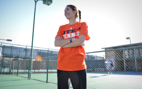 New tennis head coach Myriam Sopel came in to replace Mark Roberts.