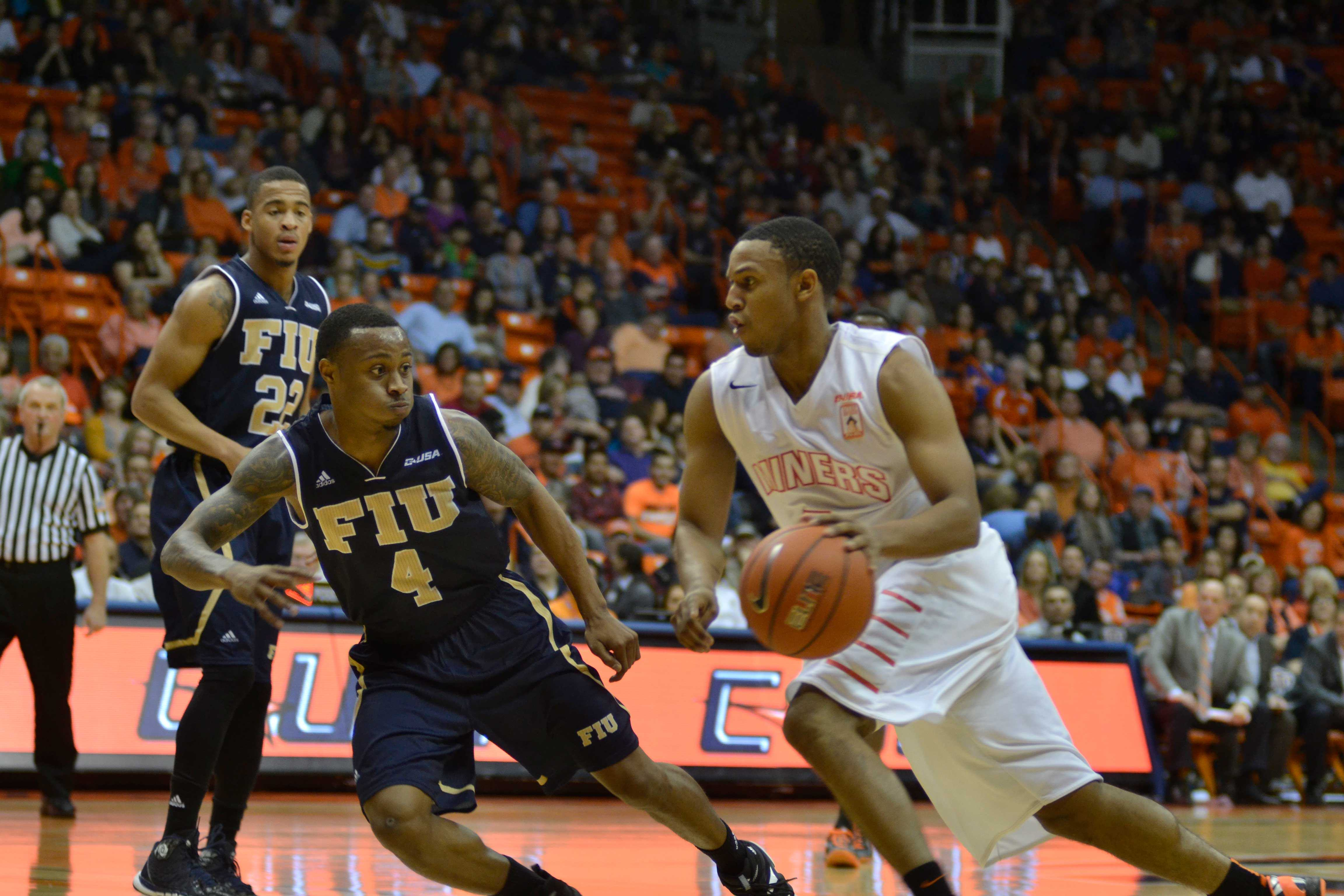 Junior point guard C.J. Cooper has scored more than 10 points per game in eight of the last nine Miners games.