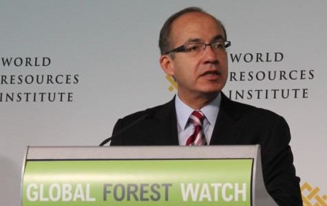 Felipe Calderon, former president of Mexico, says he would have liked to have had the Global Forest Watch when he was president. He said it would have helped him reduce deforestation even more.