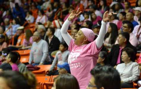 Patricia Flores known as Miss Pat has been attending UTEP games since the late 1980s.