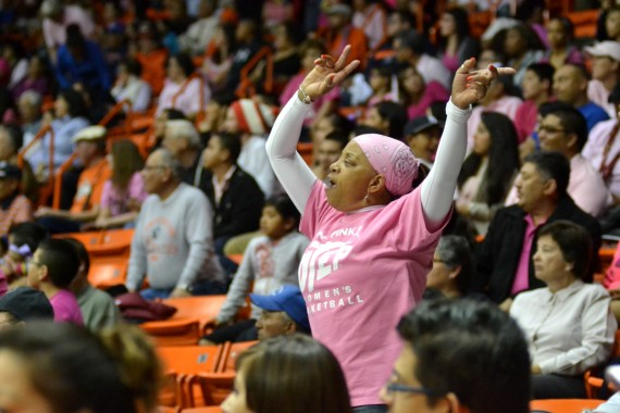 Patricia+Flores+known+as+Miss+Pat+has+been+attending+UTEP+games+since+the+late+1980s.