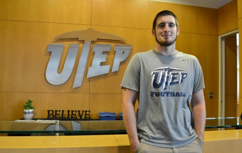 Early Cleveland High School graduate Sterling Napier is already enrolled at UTEP and working with the team. Sterling was recruited as a tight end.
