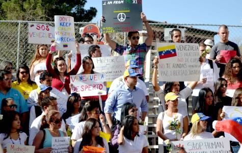 In El Paso, support for Venezuelan protesters grows