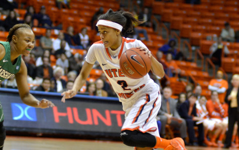 Sophomore guard Cameasha Turner is averging 5.7 points per game this season.