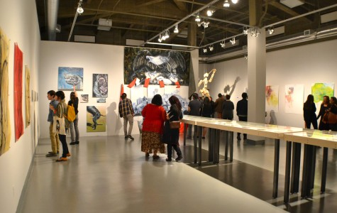 """The""""10 Squared: 100 Artists Celebrate the Centennial"""" exhibition will open on March 27 and continue until April 26 at the Rubin Center. Open house will take place from 4-7 p.m. on April 10."""