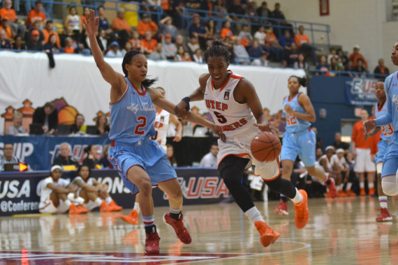 Senior+Kayla+Thornton+becomes+the+all-time+leading+scorer+in+UTEP%E2%80%99s+history+during+the+Conference+USA+Tournament.