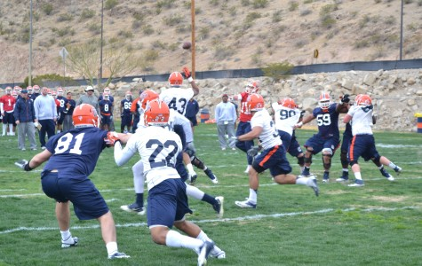 Miners began Spring practice on March 3.