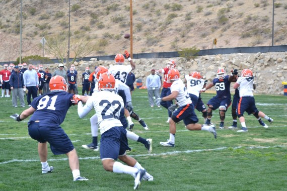 Miners+began+Spring+practice+on+March+3.