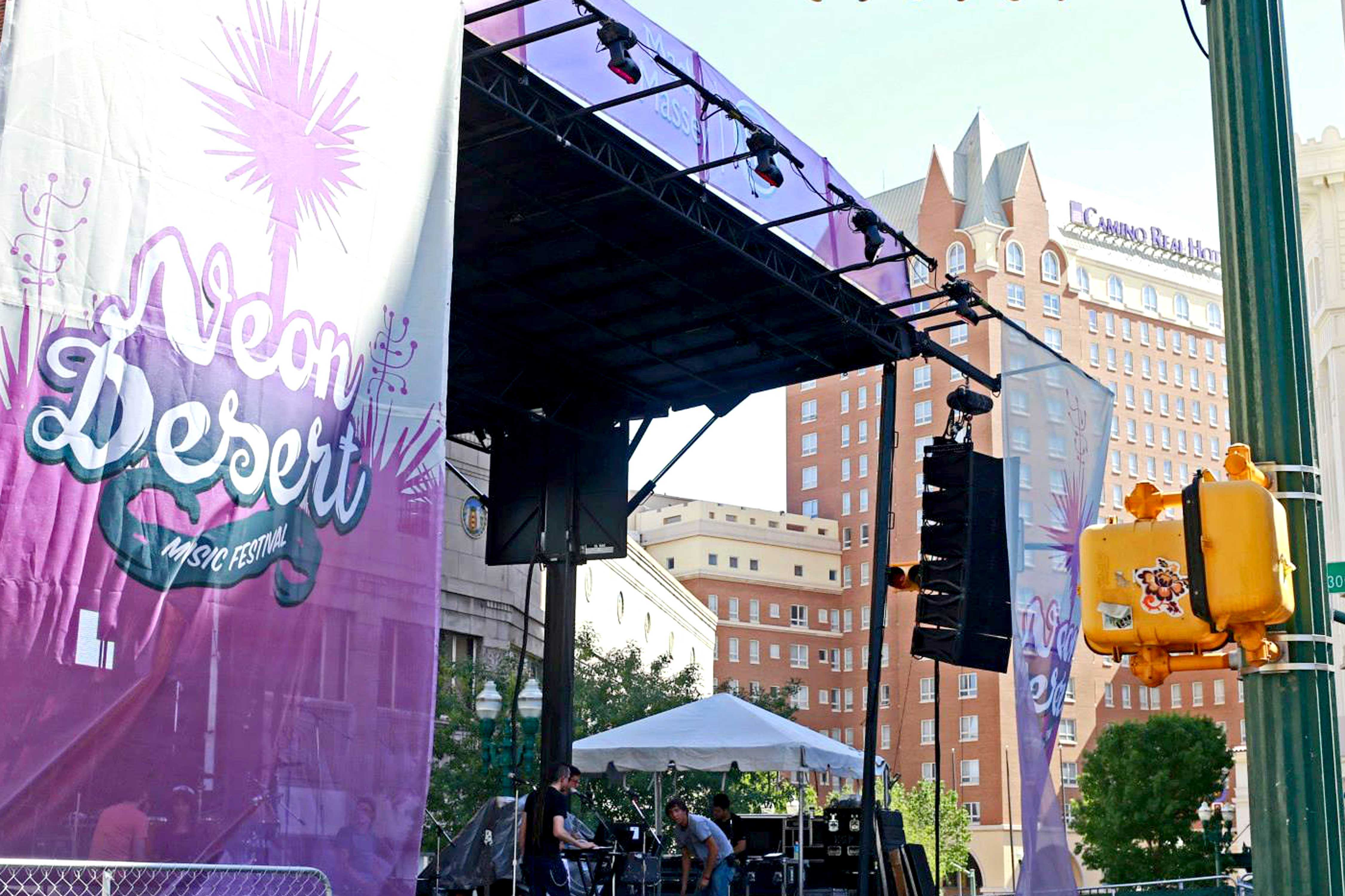 MGMT will perform at this year's Neon Desert Music Festival.