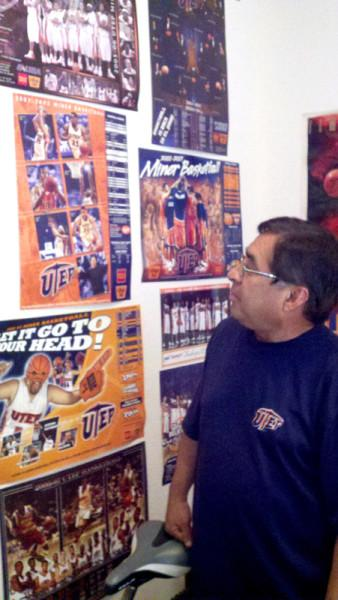 Miner Fan Club President, Larry Rodriguez, will be inducted in the El Paso Hall of fame on April 30.