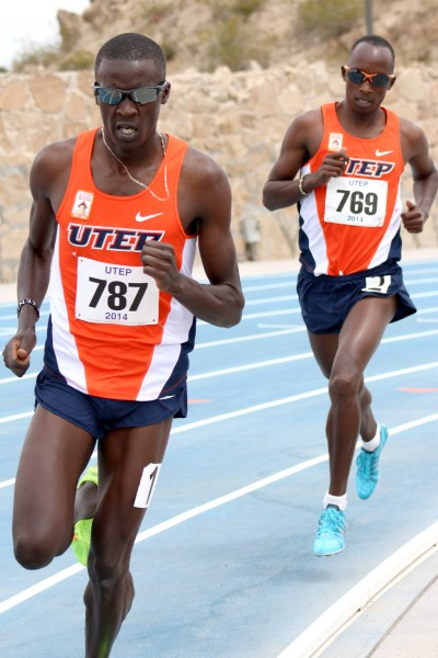 Distance+runner+Anthony+Rotich+runs+in+the+1500-meters%2C+followed+by+teammate+Cosmas+Boit.+Rotich+and+Boit+placed+first+and+second%2C+respectively%2C+at+the+April+12+meet.