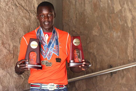 Junior All-American Anthony Rotich is one of the most decorated Track and Field athletes in the program's history after three years