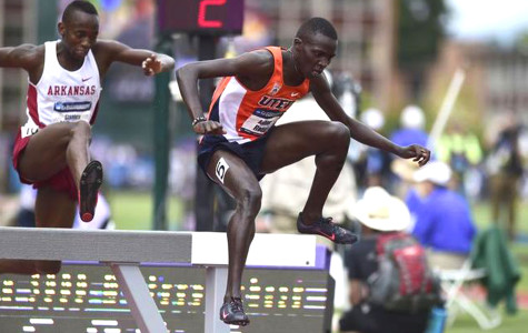 Rotich is the third Miner in the program's history to win consecutive titles in the 3,000-meter steeplechase